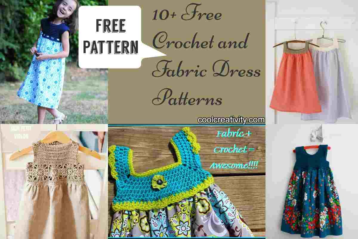 10  free crochet and fabric dress patterns