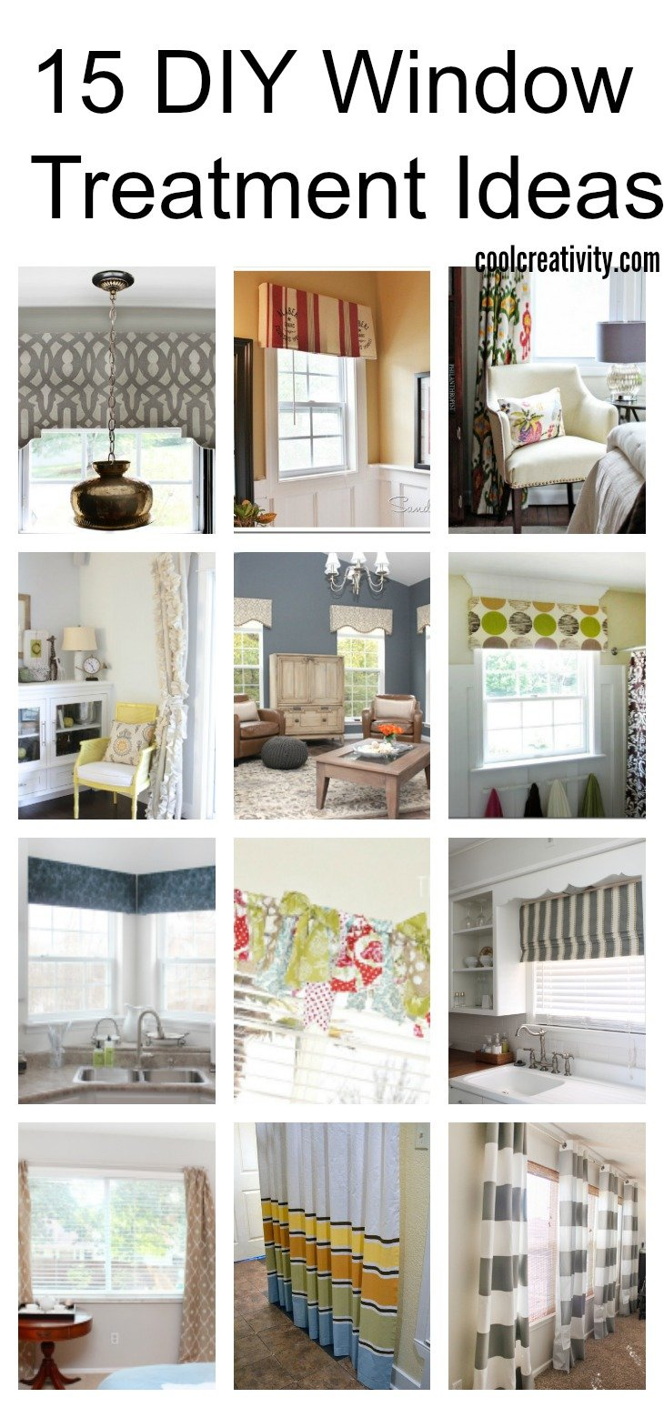 15 Diy Window Treatment Ideas