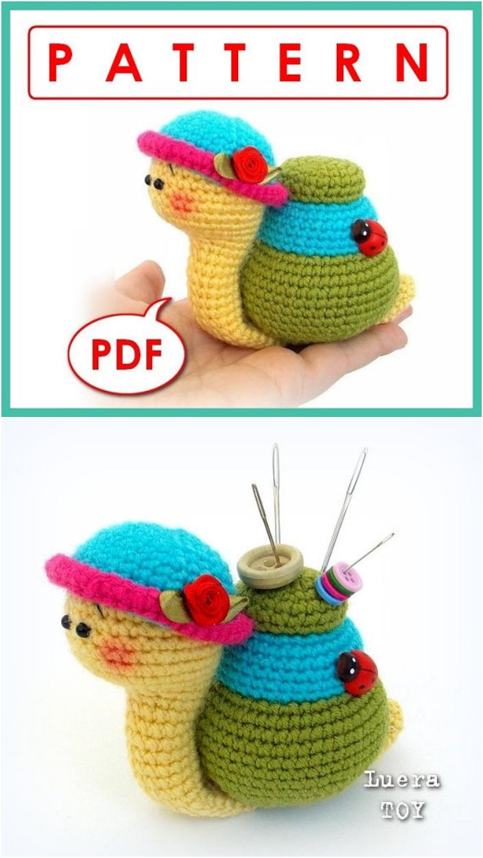 Amigurumi Snail Pattern Free : Crochet Amigurumi Snail Patterns - Page 2 of 2