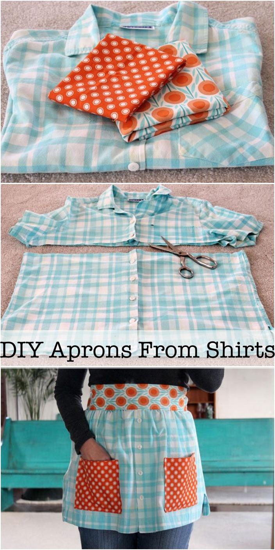 16 DIY Apron Sewing Patterns