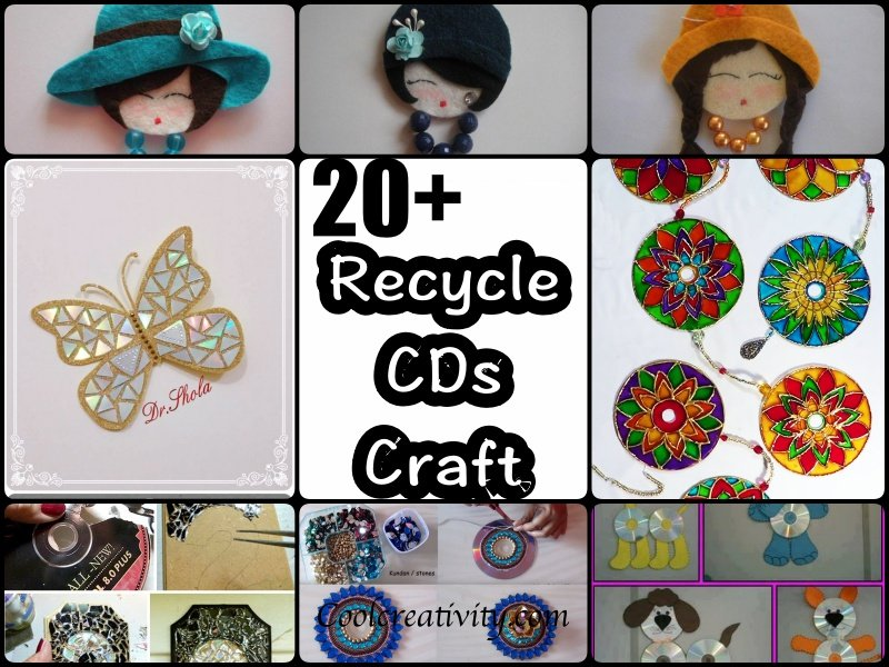 20 Brilliant Recycle Old Cds Craft Ideas