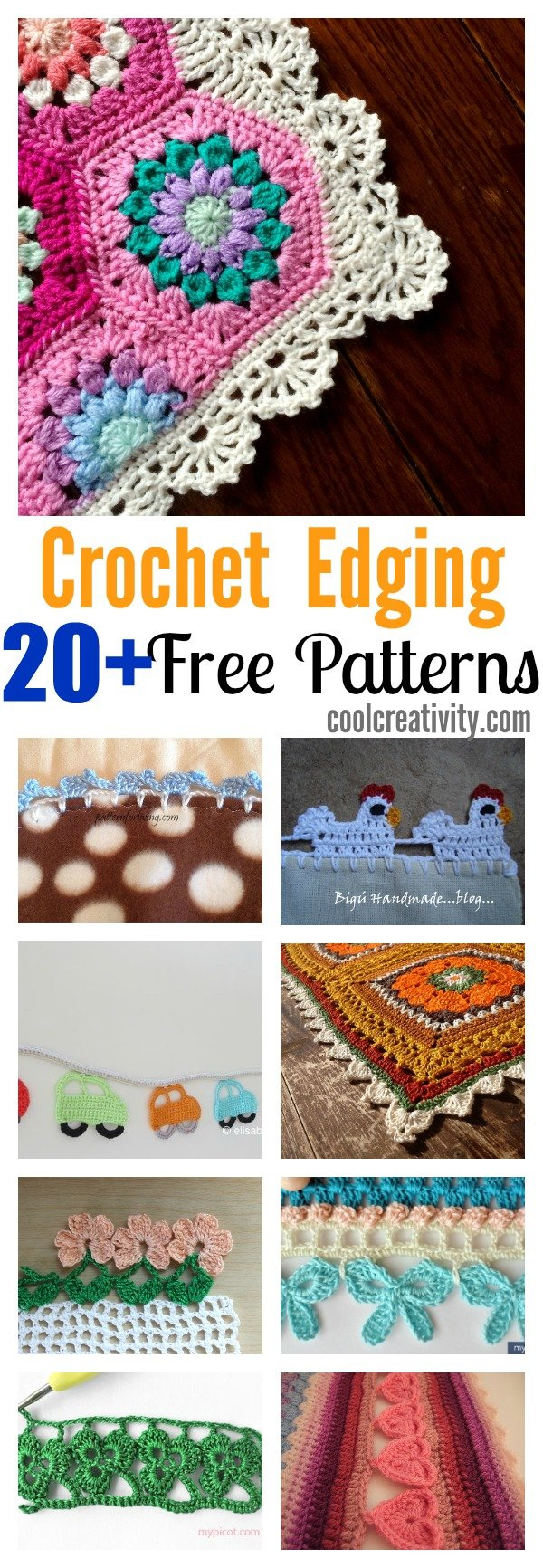 Crochet free edging patterns you should know 20 crochet free edging patterns you should know bankloansurffo Gallery