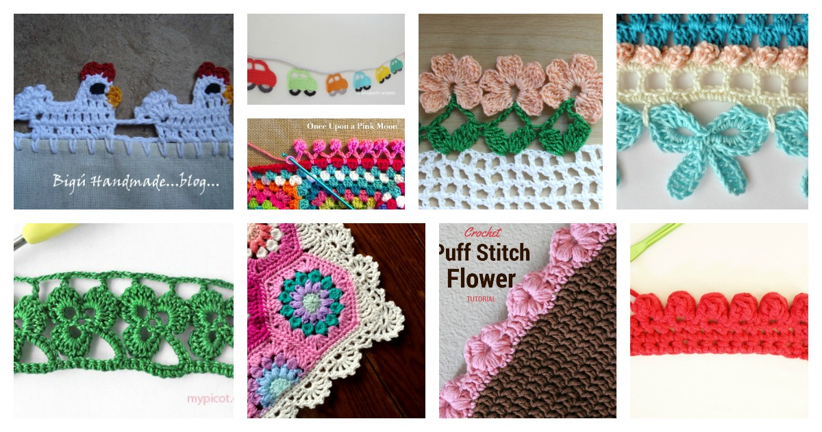 20 Crochet Free Edging Patterns You Should Know