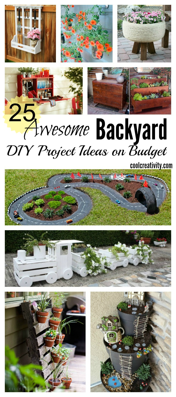 25 awesome backyard diy project ideas on budget for Epic diy projects