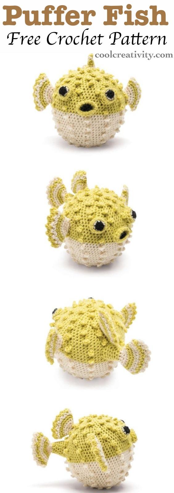 Amigurumi Fish Free Pattern | 1600x564