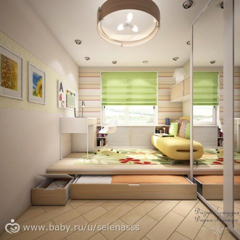 6 space saving furniture ideas for small kids room page - Toddler bedroom ideas for small rooms ...