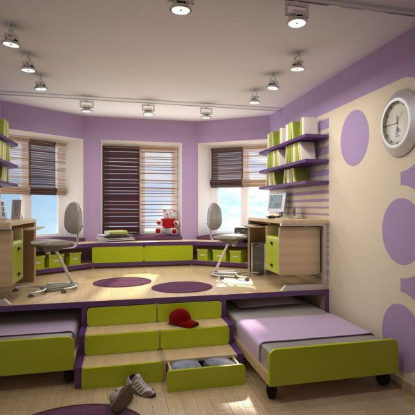 Small Kids Room Ideas: 6 Space Saving Furniture Ideas For Small Kids Room