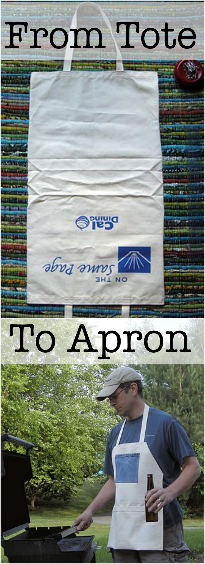 Apron from Tote Tutorial