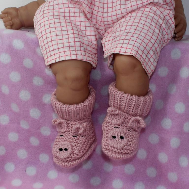 40 + Knit Baby Booties with Pattern - Page 4 of 5