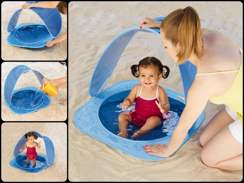 Amazing Baby Beach Shade Pool