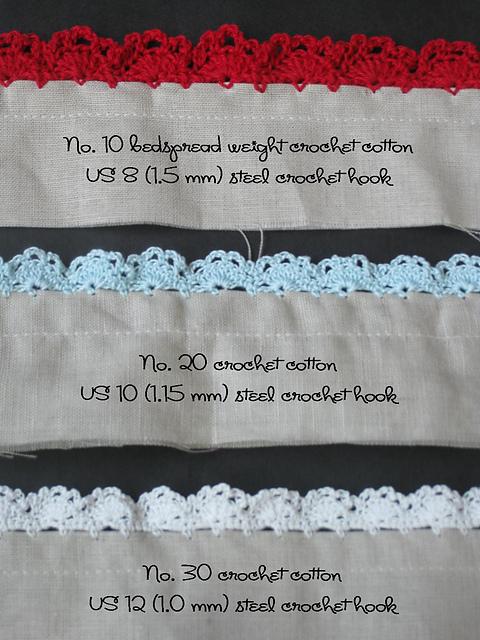 Crochet Lace Edging Free Pattern : 20 + Crochet Free Edging Patterns You Should Know - Page 4 ...