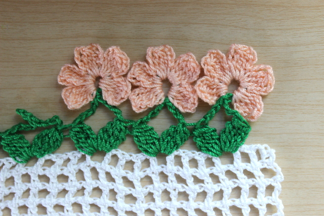 Crochet Flower Edging With Free Pattern Cool Creativities
