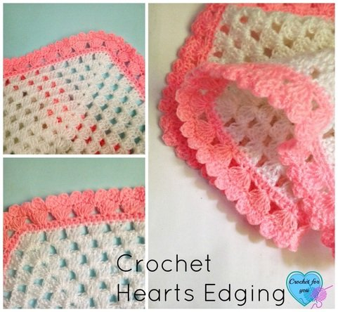 Crochet Edging Patterns : 20 + Crochet Free Edging Patterns You Should Know - Page 4 of 4 -