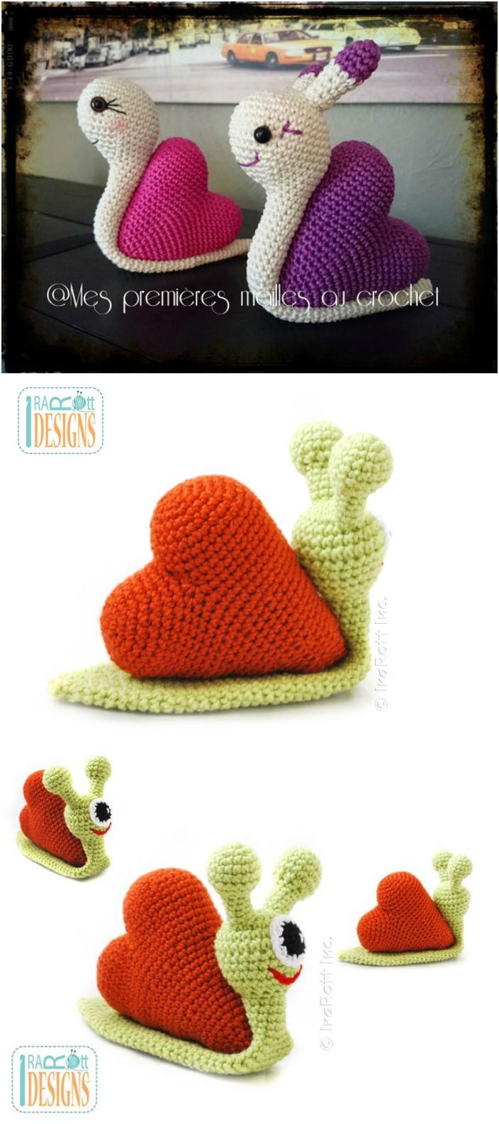 Crochet Amigurumi Snail Patterns - Page 2 of 2
