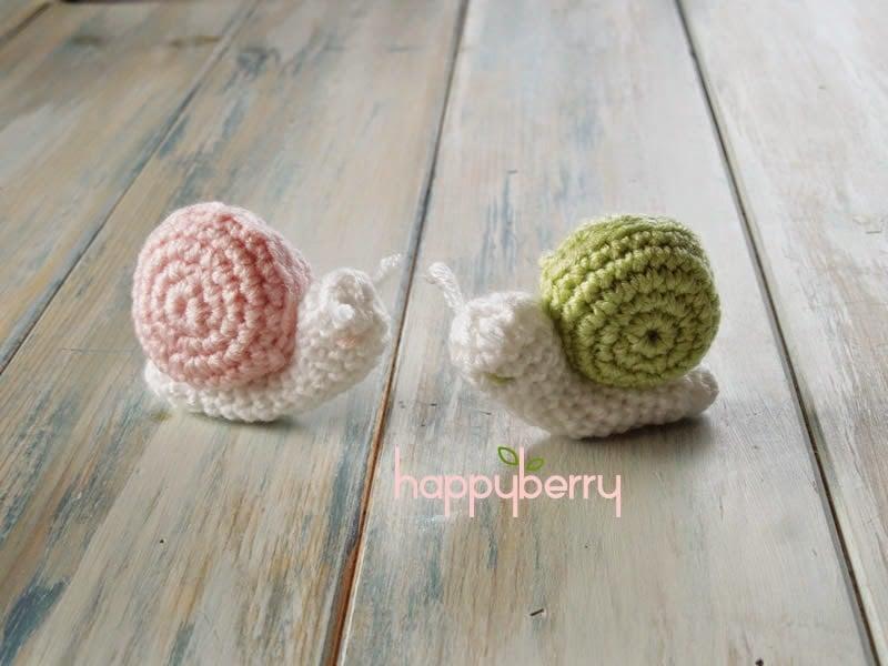 Amigurumi Free Pattern Blog : Crochet Amigurumi Snail Patterns