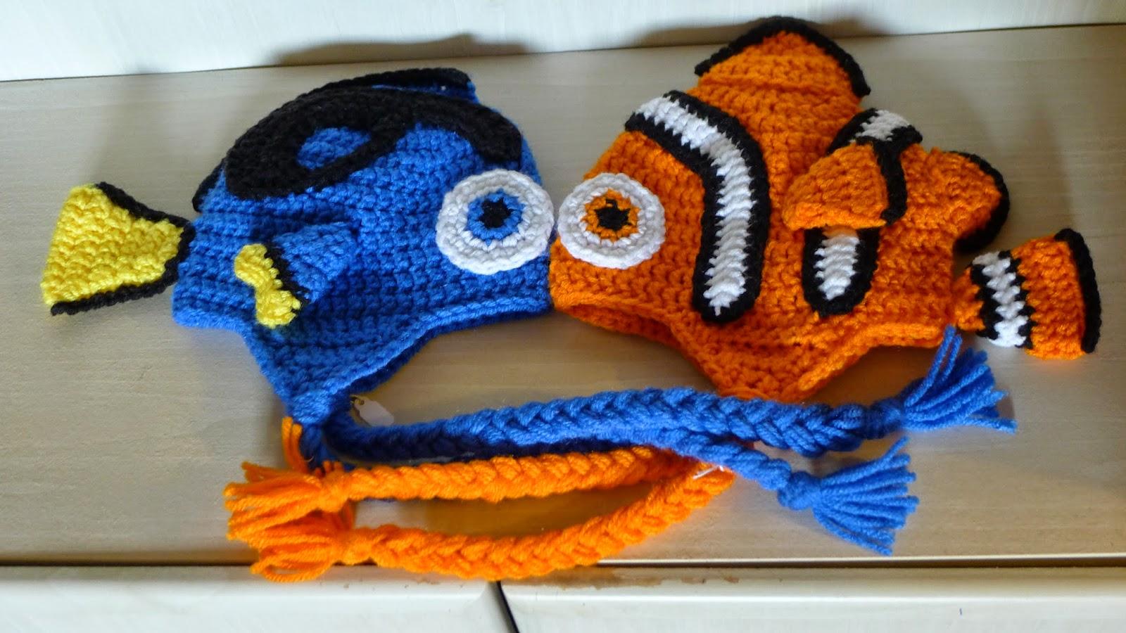 Crochet Nemo And Dory Hat Free Pattern Cool Creativities