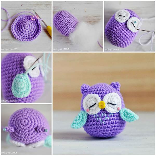 Amigurumi Owl Crochet Patterns Free : 20 Amazing Free Crochet Patterns That Any Beginner Can ...