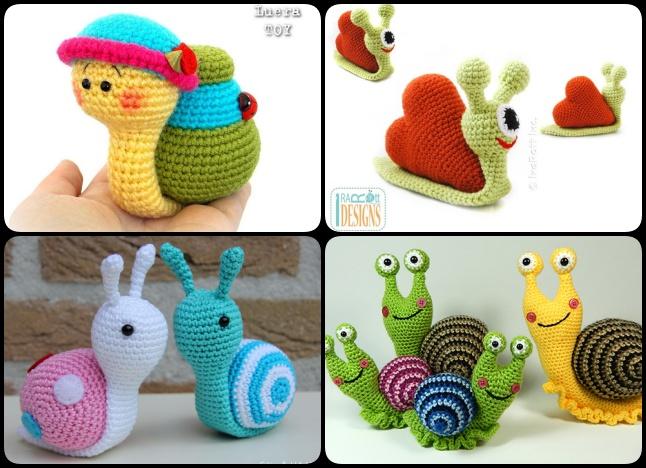 Amigurumi Snail Pattern Free : Crochet Amigurumi Snail Patterns