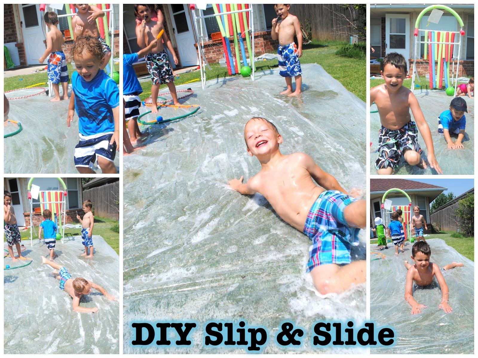 DIY Slip & Slide
