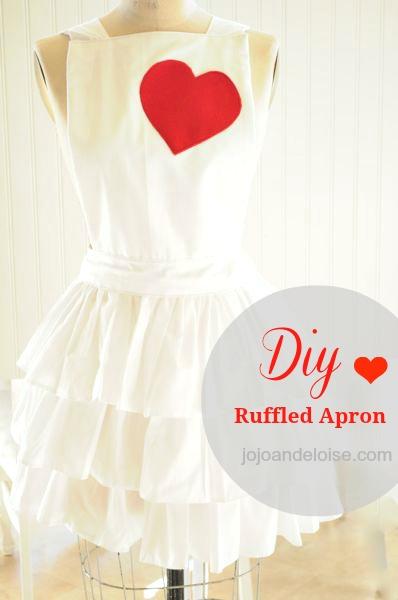 Diy Ruffled Apron