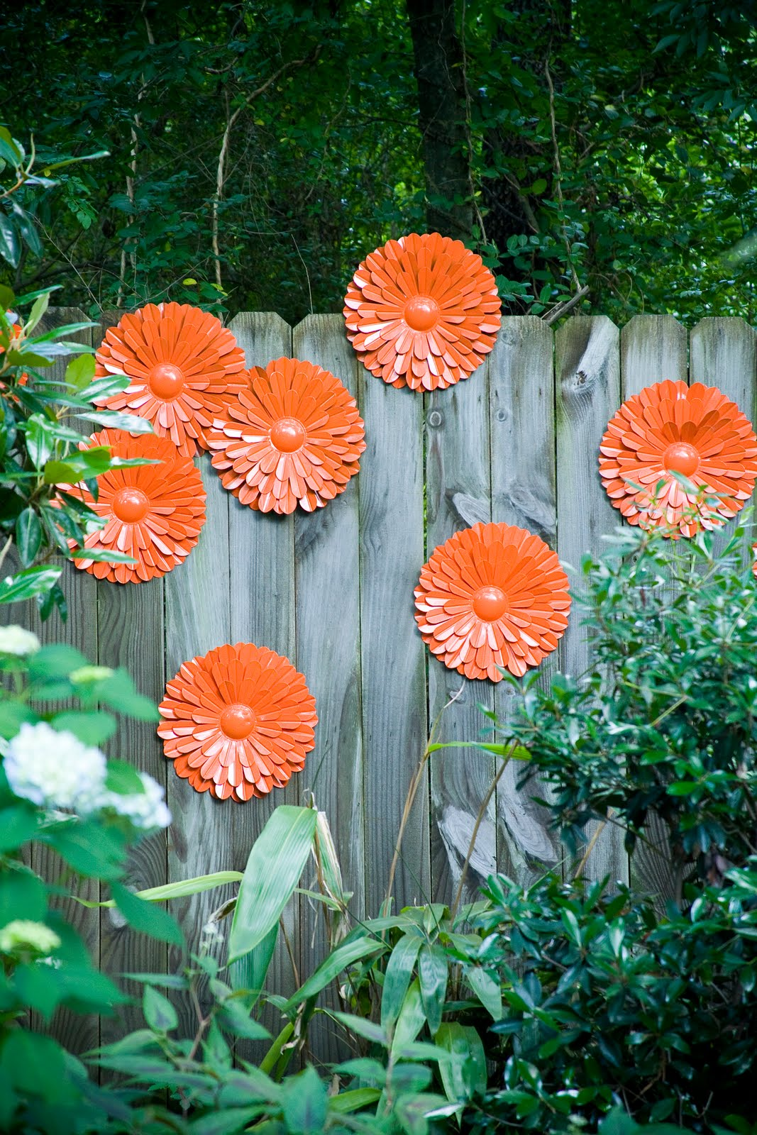 30+ Cool Garden Fence Decoration Ideas - Page 3 of 5 on Backyard Fence Decor Ideas id=59563