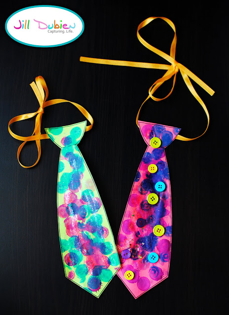 Father's Day Kid Decorated Ties