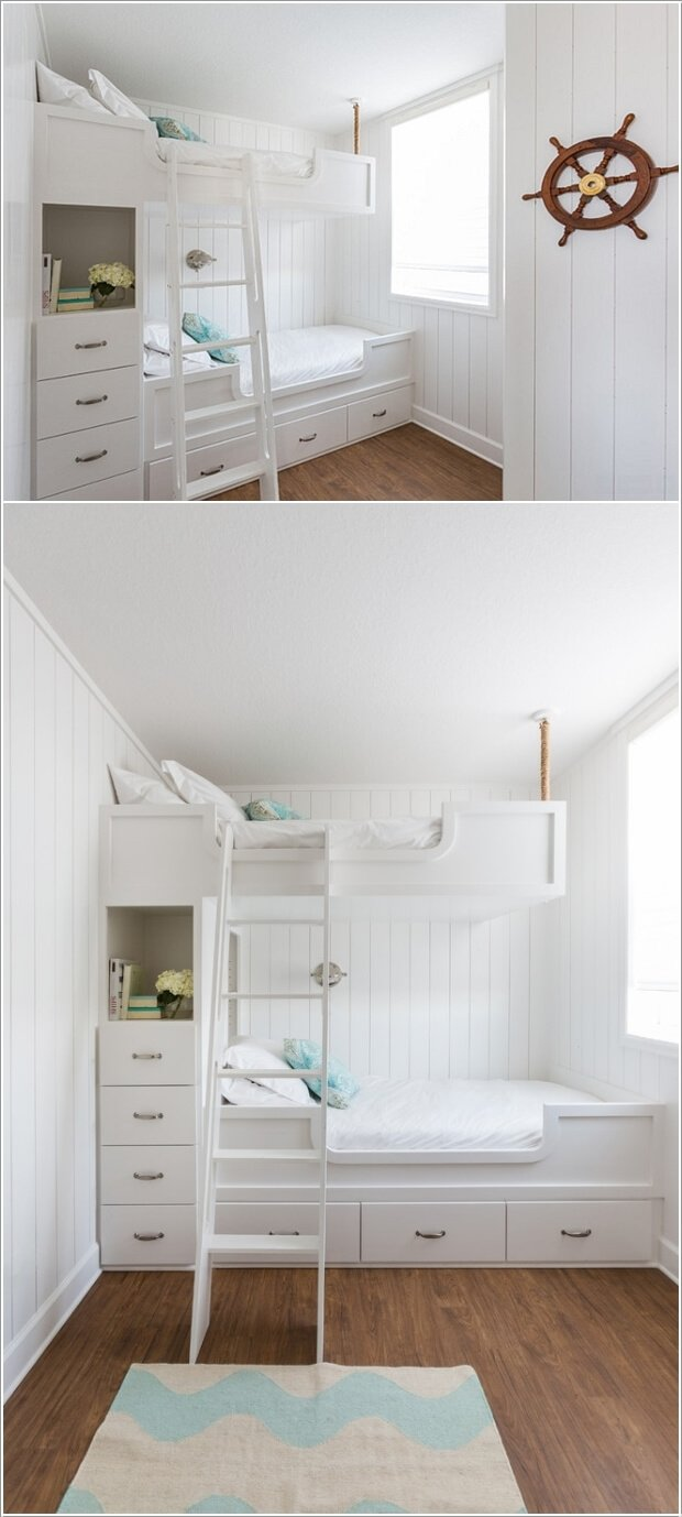 Space Saving Designs For Small Kids Rooms: 6 Space Saving Furniture Ideas For Small Kids Room