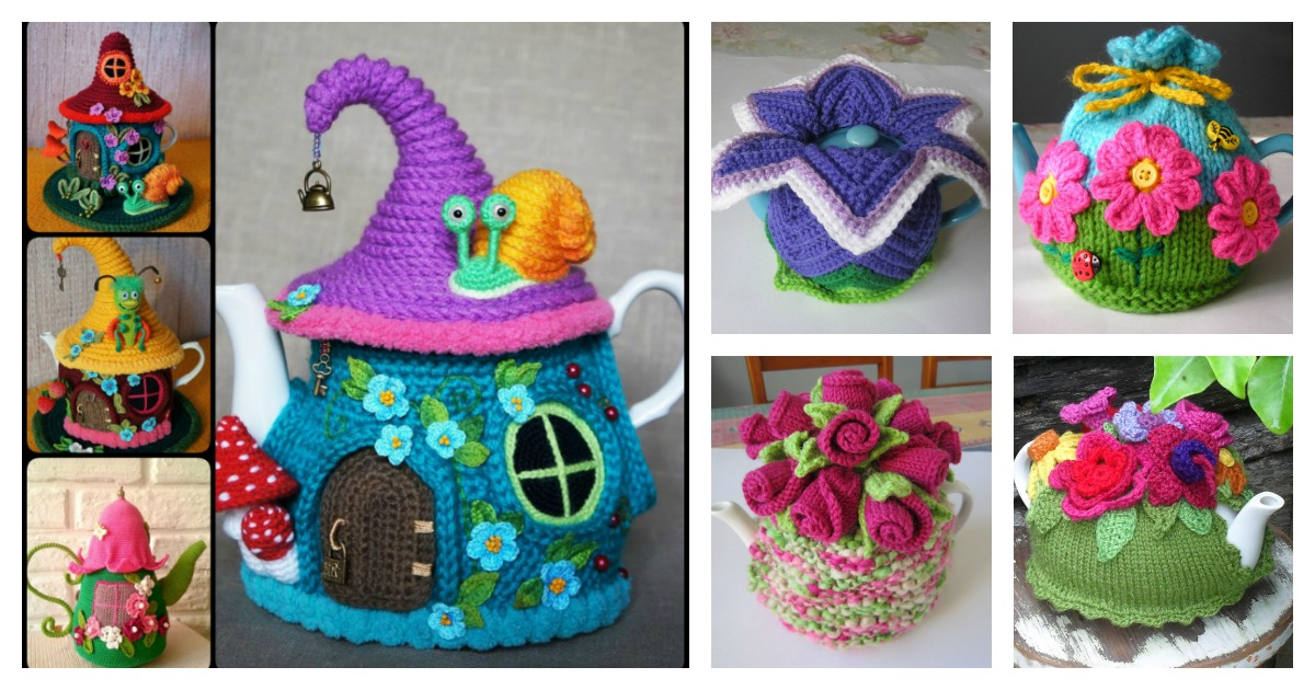 20 Handmade Tea Cozy With Patterns
