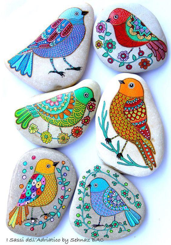 Stone Art-bird