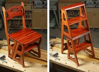 Fold Over Library Chair