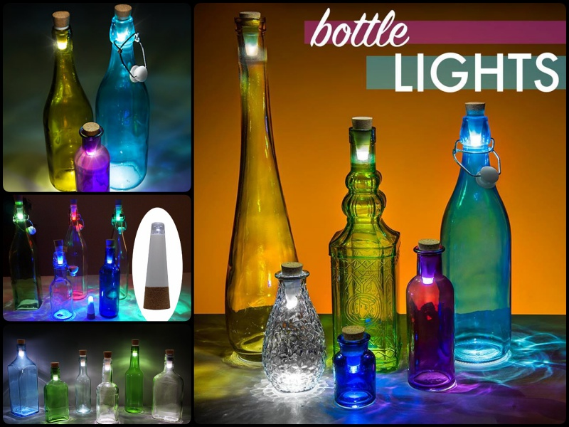 How to Transform Glass Bottles into Simple Decorative Lanterns