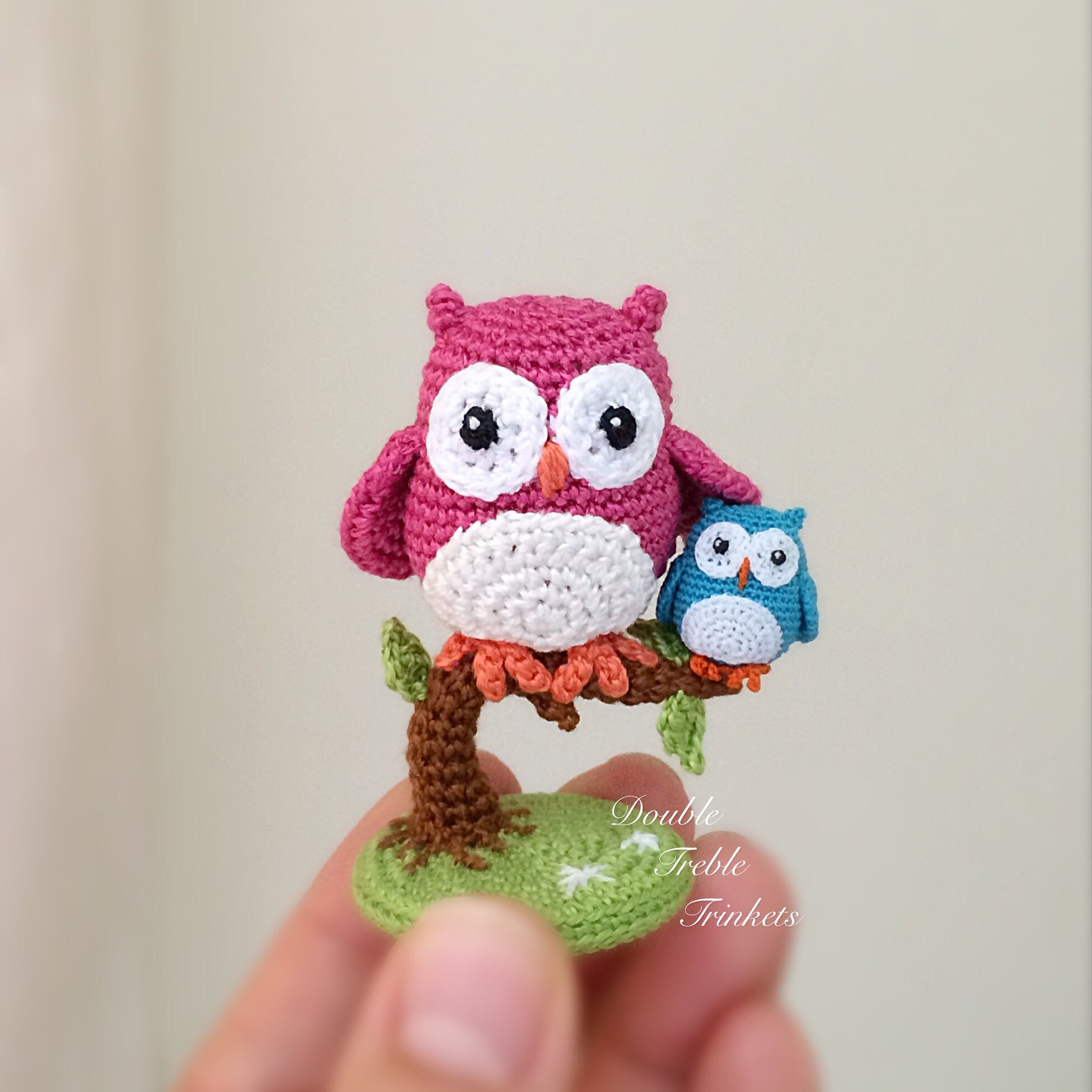Free Crochet Pattern Small Owl : Crochet Cute Little Owls with Free Pattern