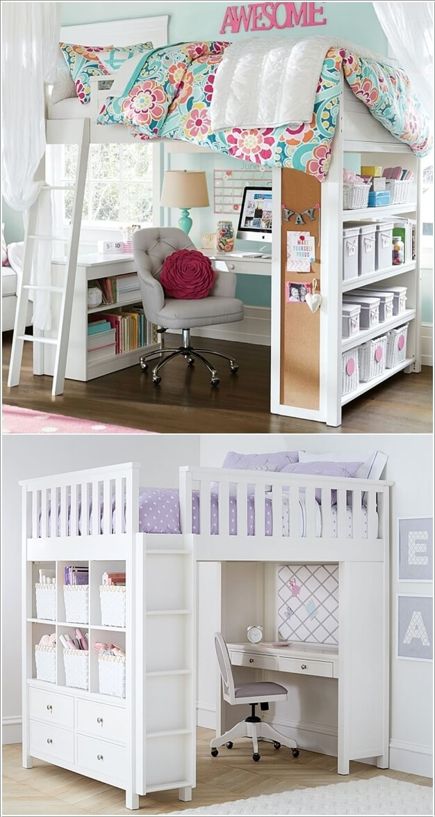 Diy Bedroom Ideas For Small Rooms Design: 6 Space Saving Furniture Ideas For Small Kids Room