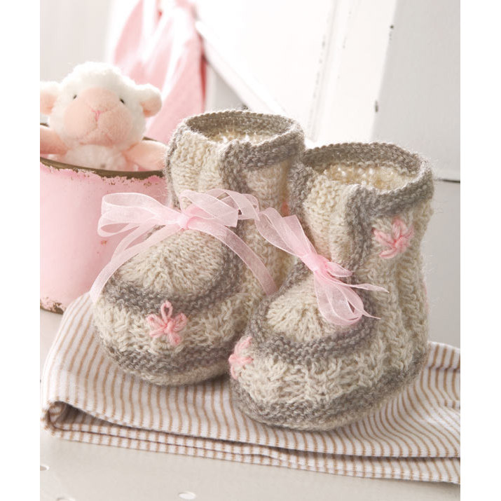 Baby Chick Booties Knitting Pattern : 40 + Knit Baby Booties with Pattern - Page 2 of 5