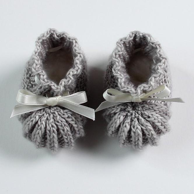 Daisy Baby Booties Knitting Pattern : 40 + Knit Baby Booties with Pattern - Page 4 of 5
