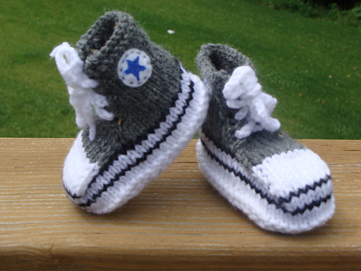 40 + Knit Baby Booties with Pattern - Page 2 of 5