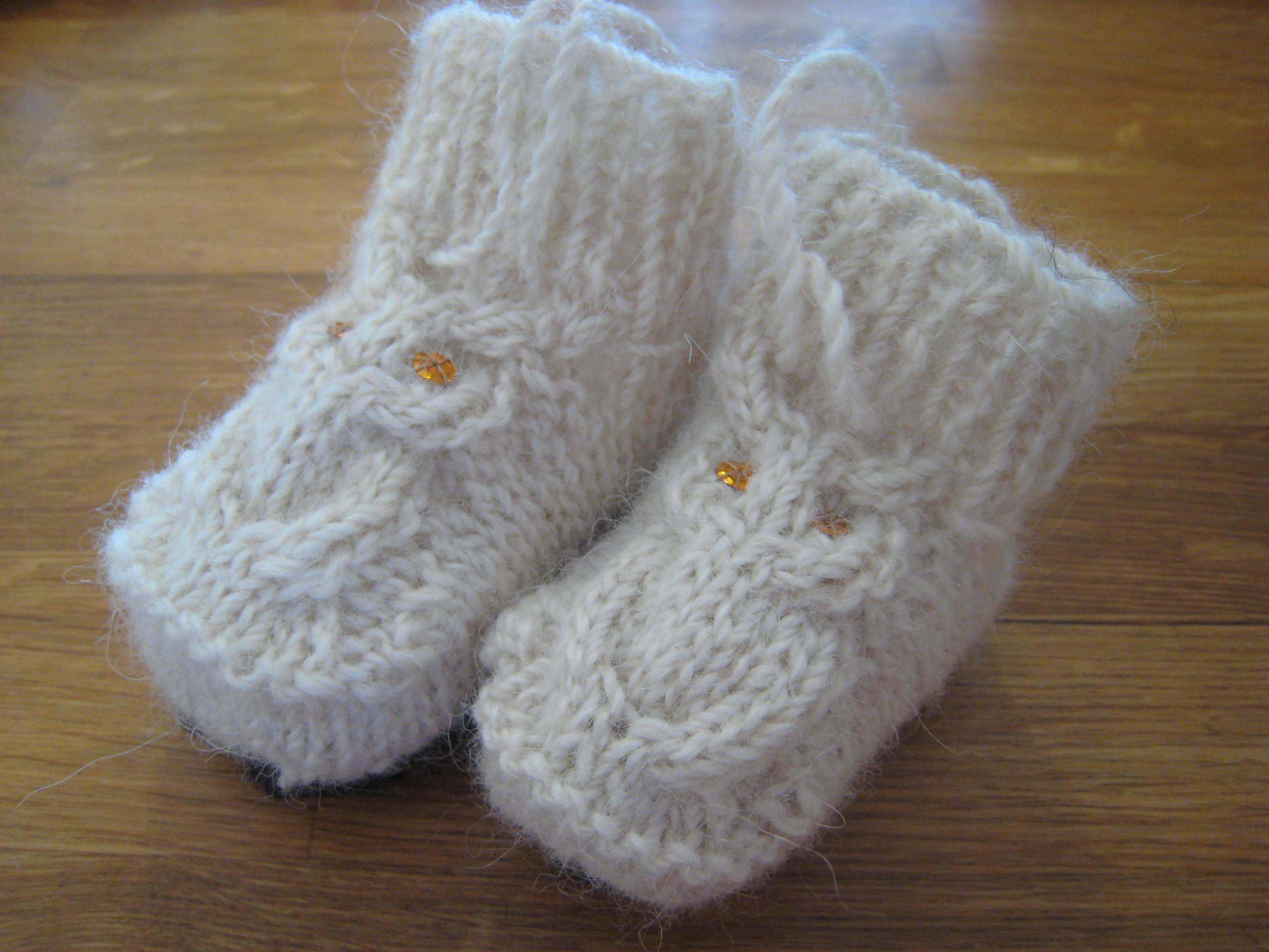 40 Knit Baby Booties With Pattern Page 3 Of 5
