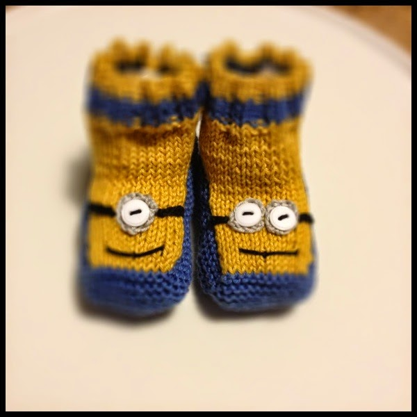 Free Crochet Pattern Minion Baby Booties : 40 + Knit Baby Booties with Pattern - Page 2 of 5