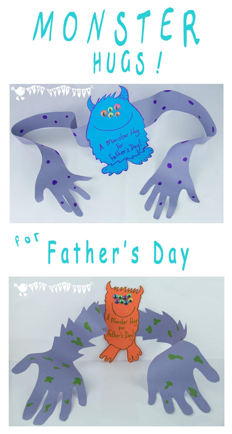 Monster Hugs For Fathers Day