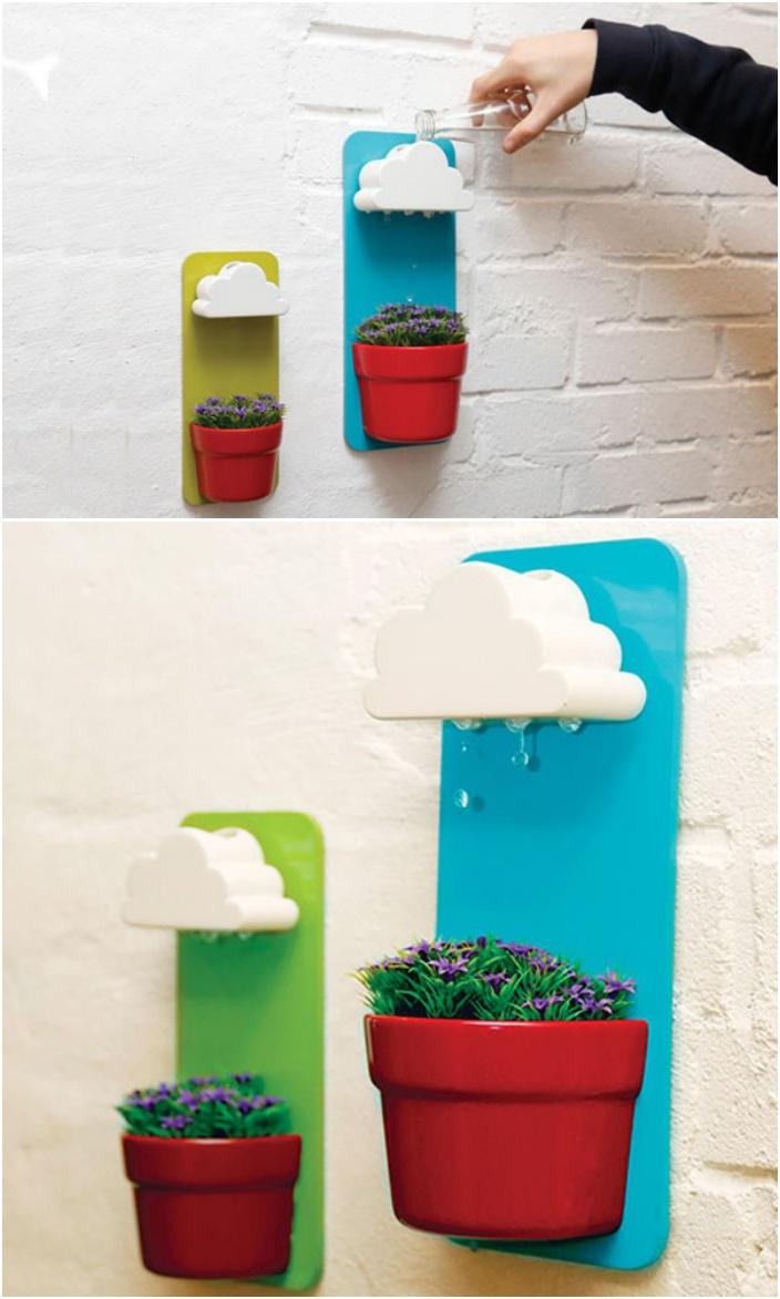 18 Indoor Herb Garden Ideas --Rainy Pot