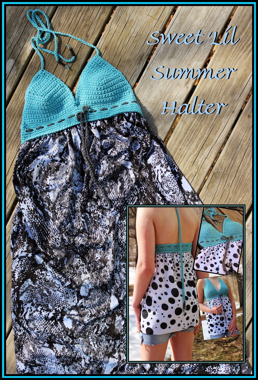 Sweet Lil Summer Halter with Free Pattern