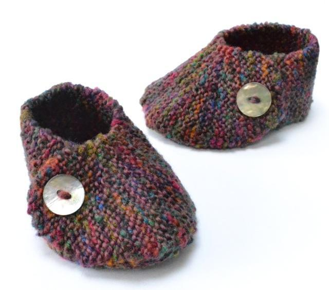 Amigurumi Baby Footprints Patterns : 40 + Knit Baby Booties with Pattern - Page 5 of 5