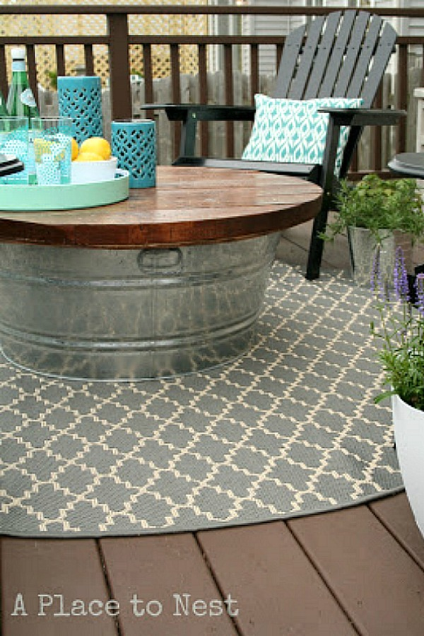 Diy Patio Bench With Cooler