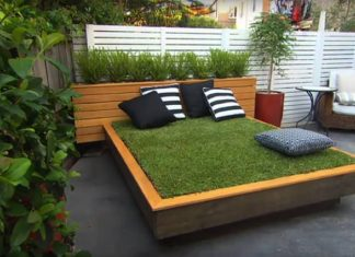 Build a Grass Day Bed