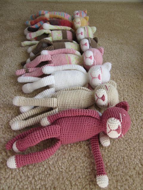 Amigurumi Cat Amineko : Crochet Amineko Cat with Free Pattern