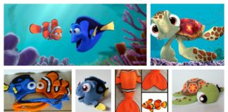 Finding Dory Crochet / Knitting Patterns