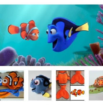 10+ Finding Dory Crochet / Knitting Patterns