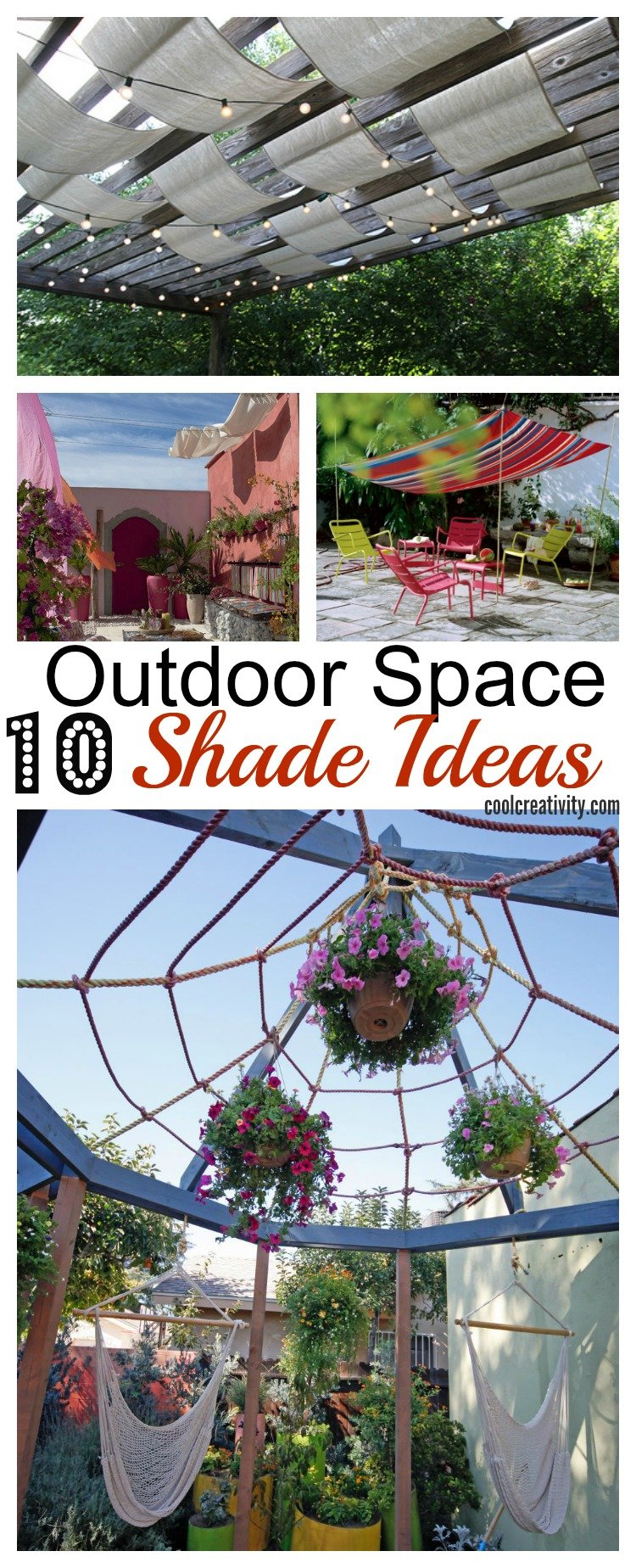 10 Ideas to Bring Shade to Your Outdoor Space p