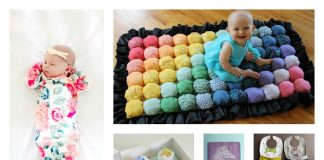 28 DIY Baby Shower Gift Ideas and Tutorials