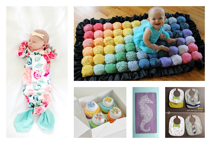 diy baby shower gifts and ideas for gift wrapping pictures to pin on